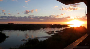 View from Cedar Key Tranquility Vacation Rental