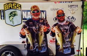 Captain Jim and Captain Jimbo at Bass Nation Tournament